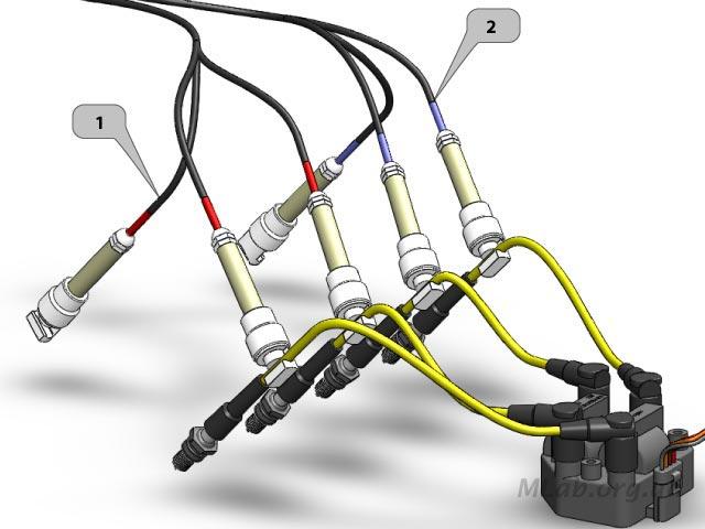 подключение ВВ датчиков к DIS системе