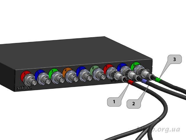 подключение ВВ датчиков к мотор-тестеру