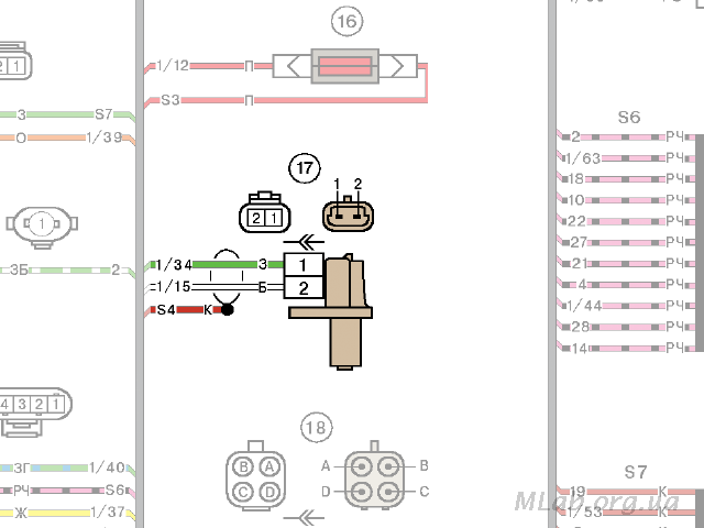 Пример схемы подключения ДПКВ